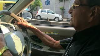 Director SK Bhagavan Drives Car at 84 Years   Chitraloka