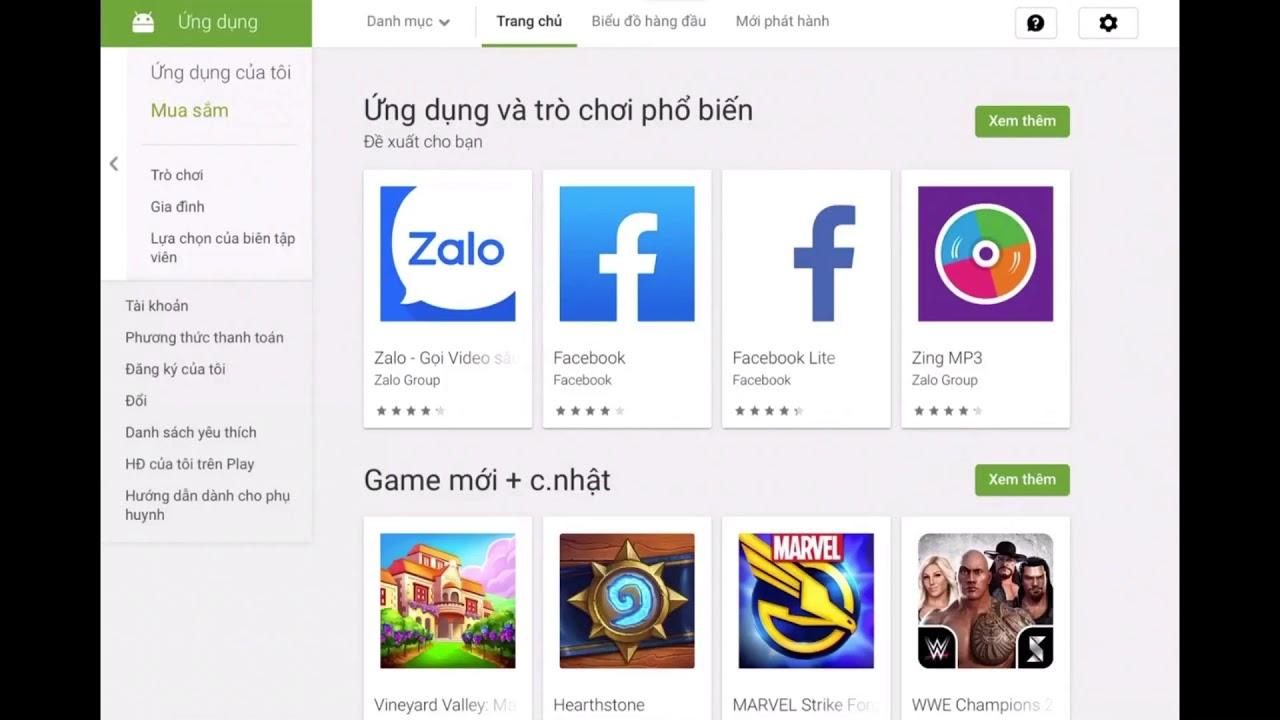Cách tải CH Play Cho Iphone, Ipad None Jailbreak [IOS 12]