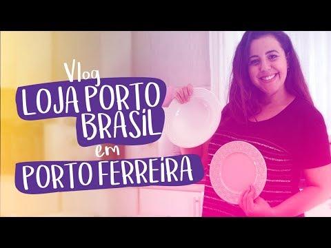 VLOG LOJA PORTO BRASIL EM PORTO FERREIRA
