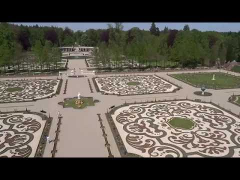 Het Loo Palace - Garden Views from the Rooftop Terrace
