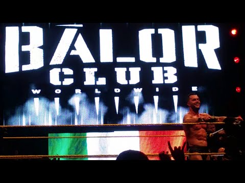 Finn Bálor post-match promo (NXT Dublin!)