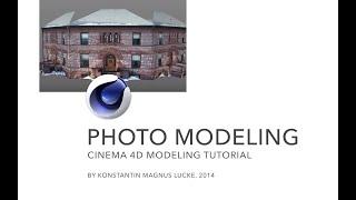 Photo based modeling - Cinema 4D Tutorial