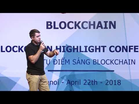[Hey Blockchain] CREDITS talks Future blockchain at Hey Blockchain Conference (Hanoi Apr2018)
