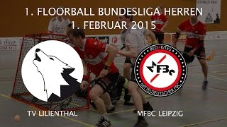 Highlights: TV Lilienthal - MFBC Leipzig / 13. Spieltag 2014 / 2015