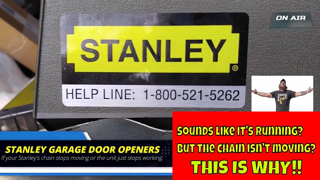 stanley garage door opener not working this could be why  [ 1280 x 720 Pixel ]