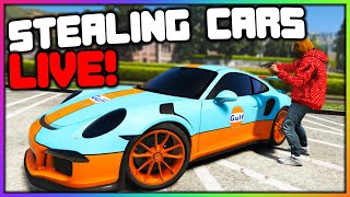 GTA 5 Roleplay LIVE  Stealing Cars and MORE | RedlineRP