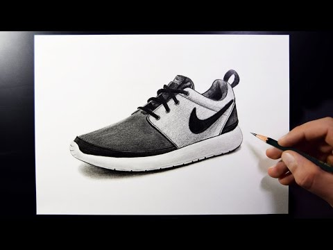 how-to-draw-nike-shoes-(speed-drawing)