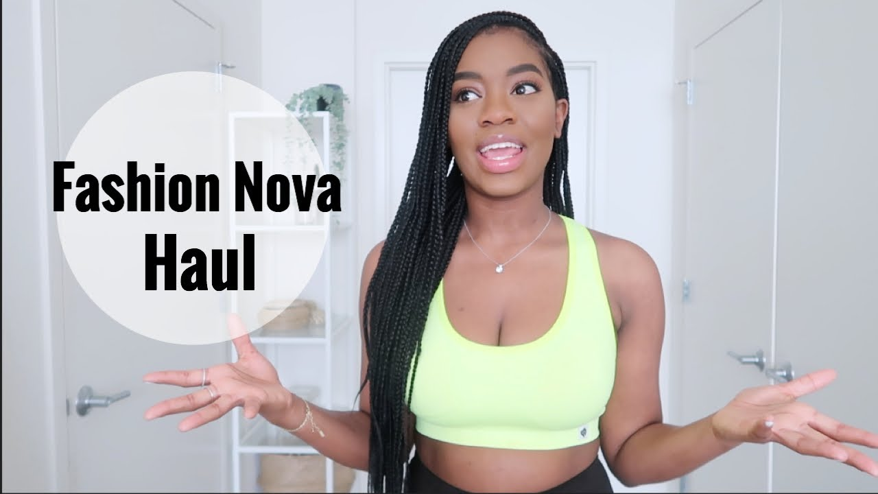 Fashion Nova Activewear Haul