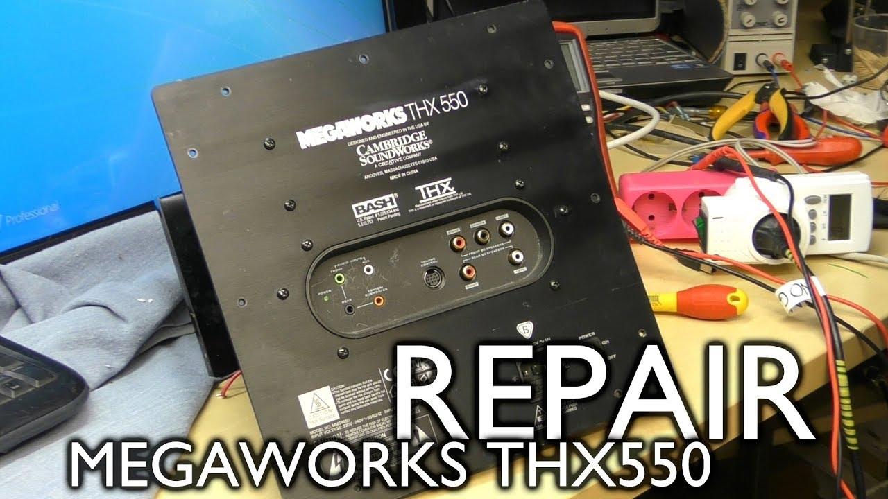 Megaworks THX 550 repair (again)
