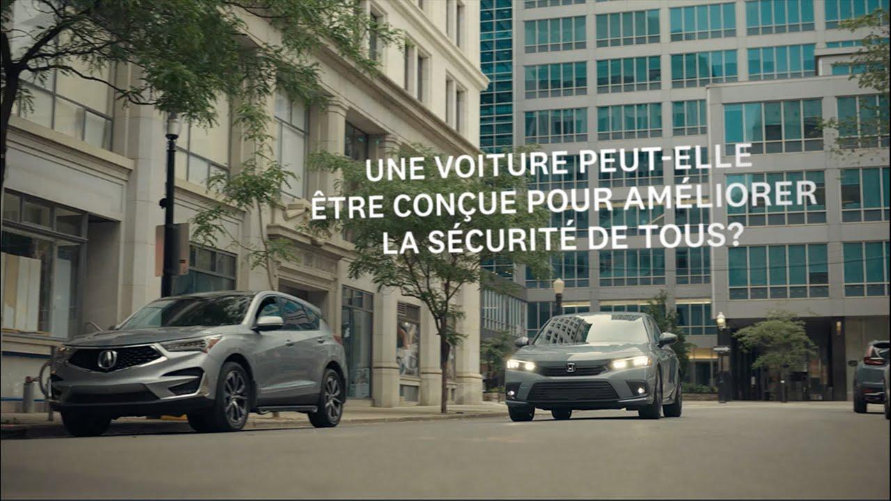 La toute nouvelle Honda Civic 2022 - Sécurité