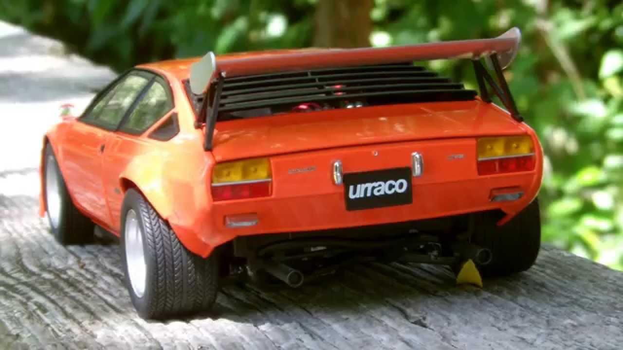 Lamborghini Urraco Rally Bob Wallace Youtube
