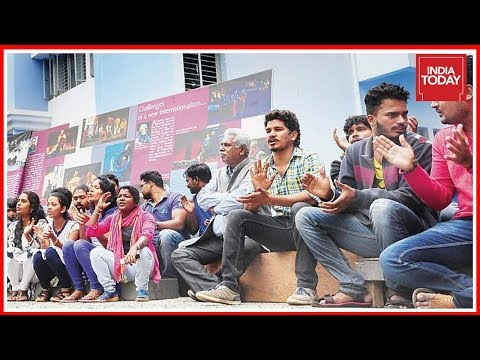 Students & Staff Protest Against Eviction From NSD, Bangalore