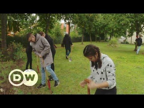 Germany's green classroom: solar panels and a carport | DW English
