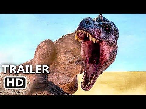 JURASSIC GAMES Official Trailer (2018) Dinosaur Movie HD