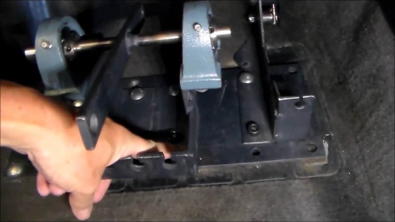 Right Hand Drive Pedal Kits for Postal Vehicle Conversion