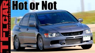 Mitsubishi Evo MR: Road, Track & 0-60 MPH Review - TFL Leaderboard Hot or Not Ep.12