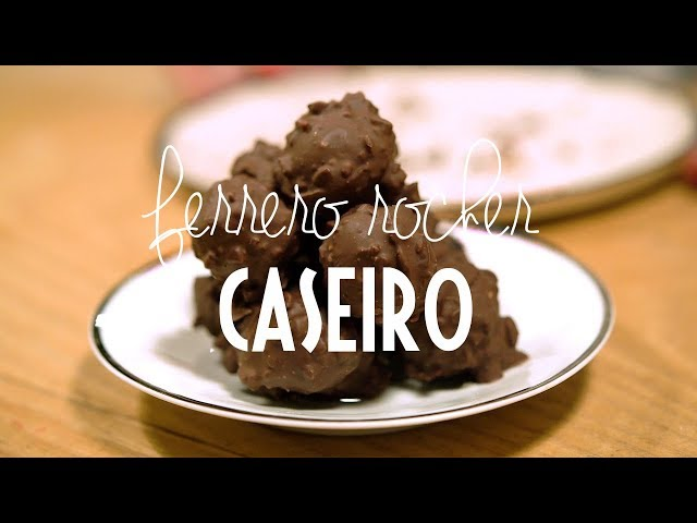 Ferrero Rocher Caseiro | RENDEZ-VOUS DE NATAL