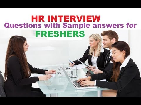 HR interview questions and answers for freshers-How to ...