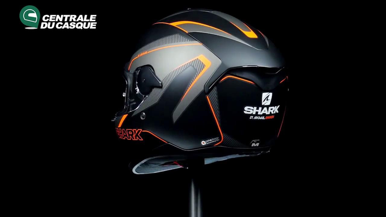 360 Shark D Skwal Rakken Mat Orange Kao Centrale Du Casquecom