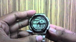 review jam tangan casio ae1000wd 1avdf