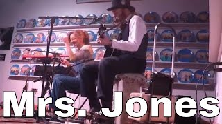 Mrs. Jones - Chris Rodrigues & Abby the Spoon Lady (WDVX Blue Plate)