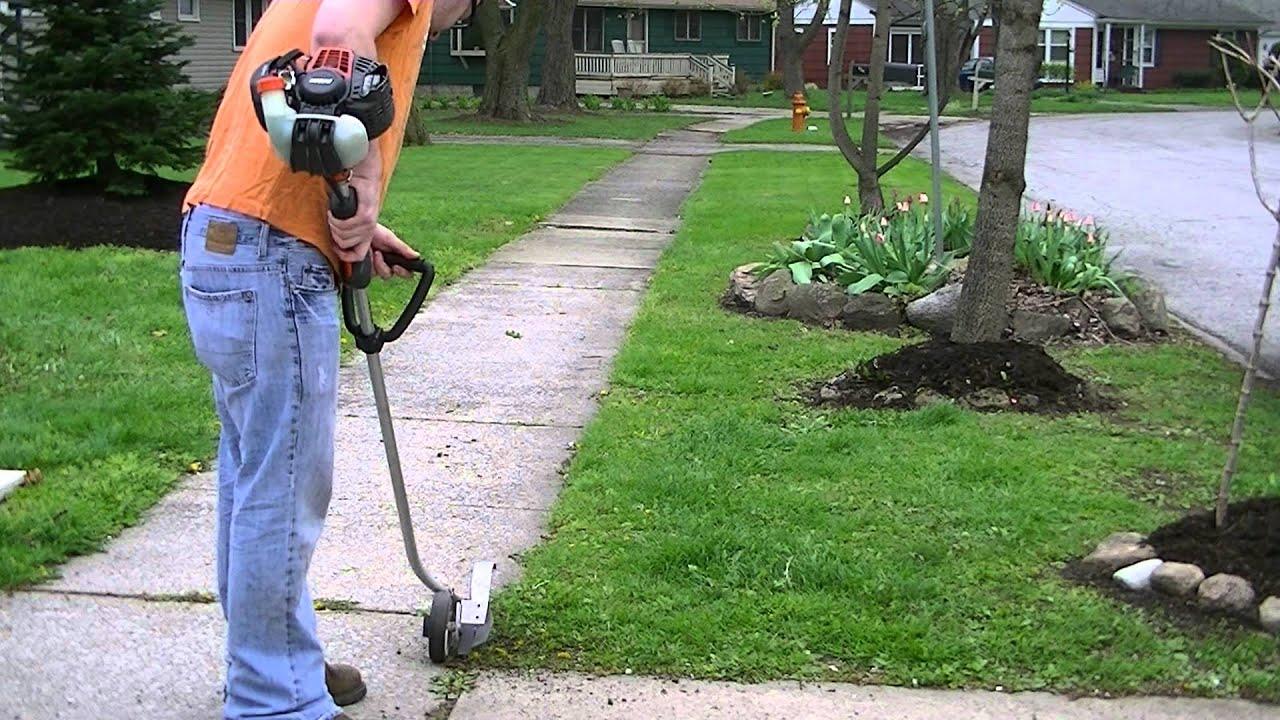 Echo pe 265 edger youtube for Garden edging prices
