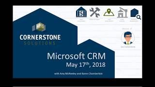 Microsoft's CRM 5-17-18