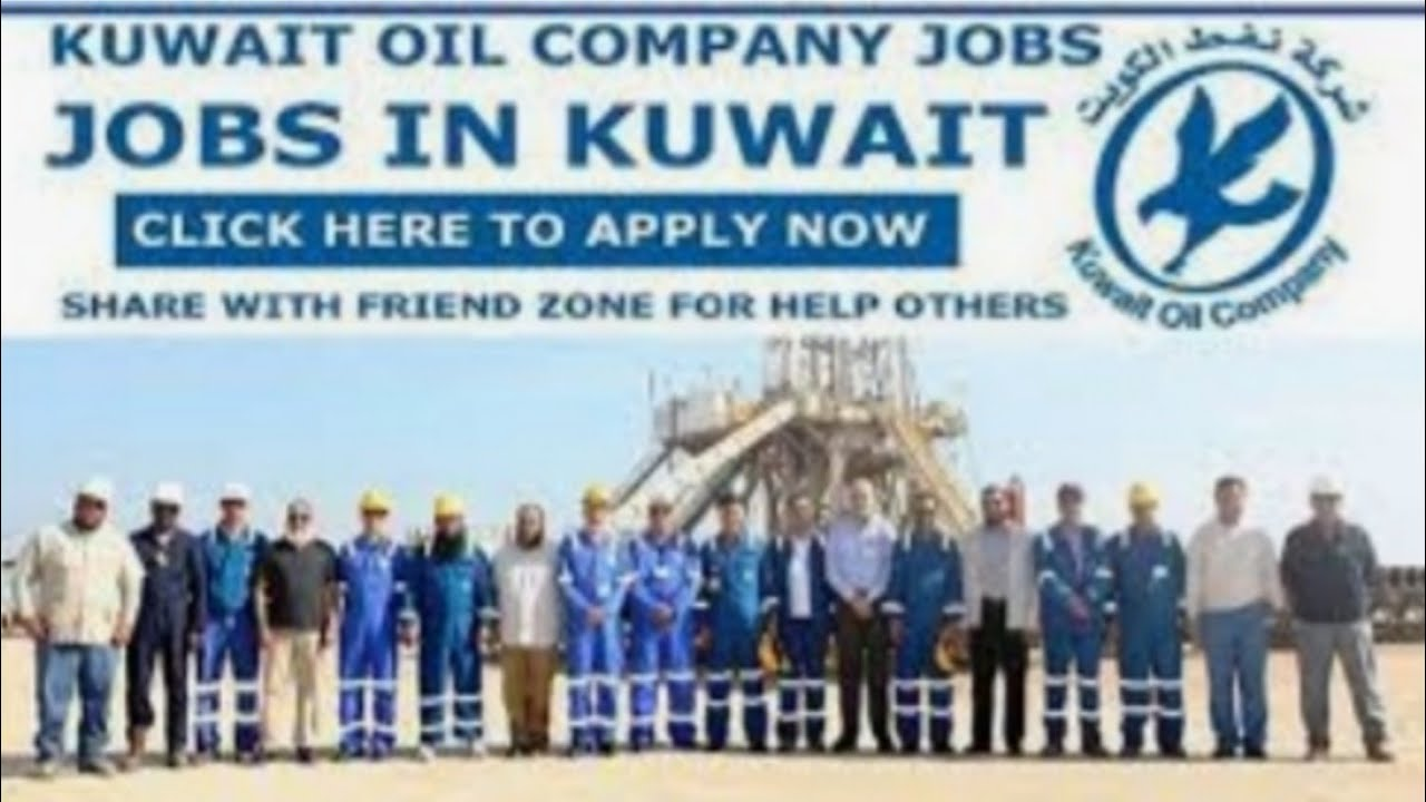 Kuwait oil company | mechanical foreman | civil supervisor | light driver |  heavy driver | computer