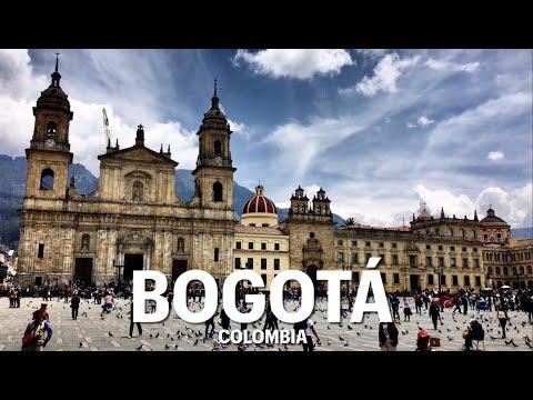 Bogotá City Street Tour, Beautiful Capital City of Colombia