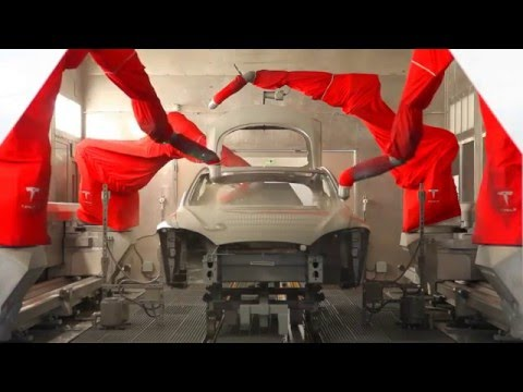 2016 Tesla Model S - Fremont Factory Paint Shop