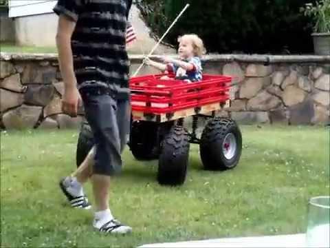 boss hauler custom kids wagon youtube. Black Bedroom Furniture Sets. Home Design Ideas
