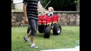 Boss Hauler Custom Kids Wagon