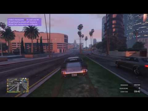 GTA 5 online grand theft auto V playing GTA 5 online with friends