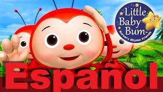 Si te sientes muy feliz   Parte 3   Canciones infantiles   LittleBabyBum