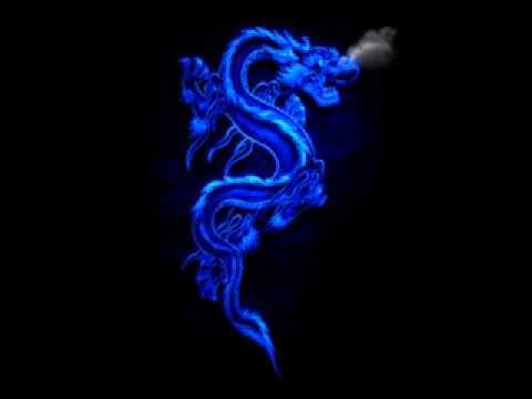 Blue Dragon Breathing Fire Ace Live Video Wallpaper