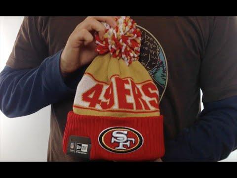fdae772c5dd 49ers  REP-UR-TEAM  Knit Beanie Hat by New Era - YouTube