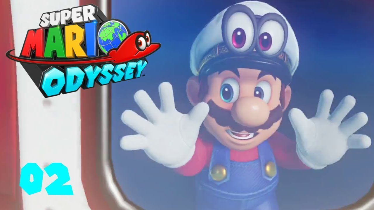 Super Mario Odyssey épisode 2 Un Nouveau Monde