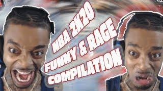 FlightReacts NBA 2K20 PARK Funny & Rage Compilation Highlights