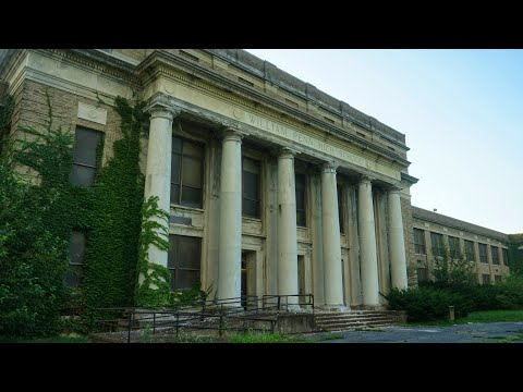 Abandoned PA High School Full Of Supplies | Fallout Shelter Tunnels