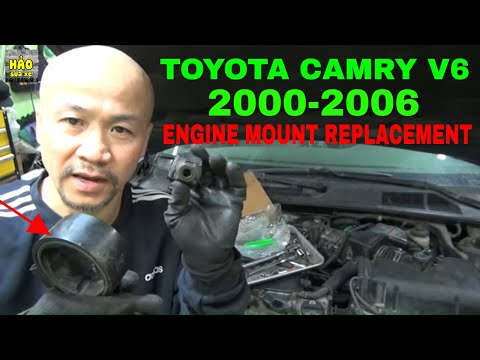 Engine Mount Replacement DIY 2000 2006 Toyota Camry