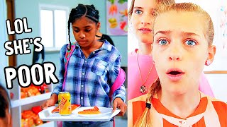 POOR GIRL SHAMED AT SCHOOL LUNCH (ending is shocking)  - Norris Nuts React