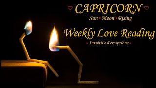 CAPRICORN - AUGUST 5-11 2018 LOVE TAROT READING