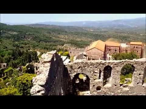 Mistra - walking through a Byzantine city
