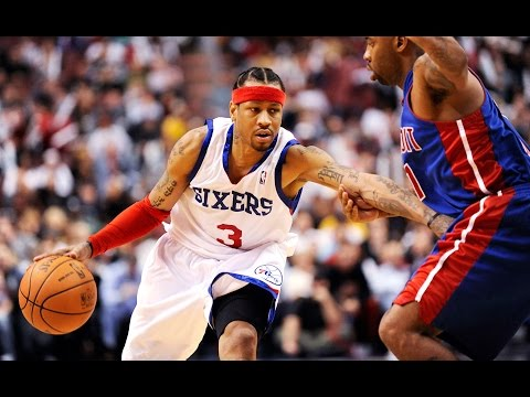 Allen Iverson Highlights: Is Allen Iverson the most underrated Player in the NBA?