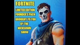 Fortnite 1: Limited Edition Founder's Pack Intro