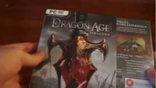 Unboxing Dragon Age: Origins CE (UK)  + Dragon Age II Bioware Signature Edition (RU)