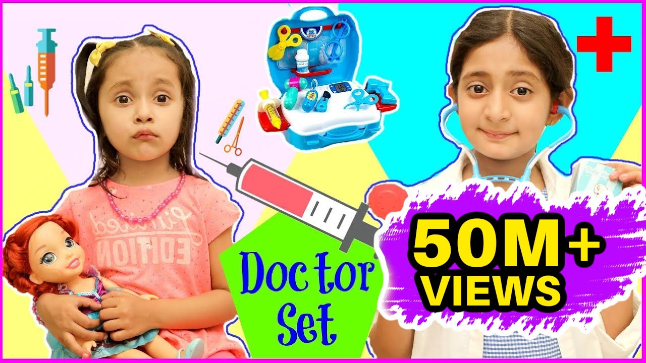 Download Anantya & Anaya PRETEND PLAY with Doctor Set ..  | #Playhouse #Review #MyMissAnand #ToyStars