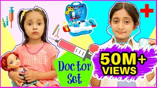 Anantya & Anaya PRETEND PLAY with Doctor Set ..  | #Playhouse #Review #MyMissAnand #ToyStars