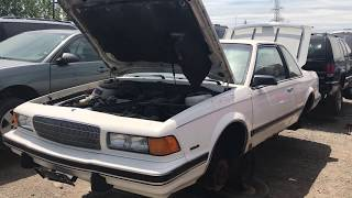Super Low Mileage 2 Door Buick Century got SCRAPPED?!