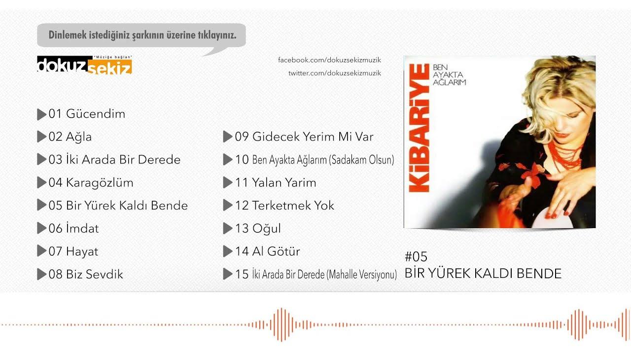 Kibariye - Bir Yürek Kaldı Bende (Official Audio)